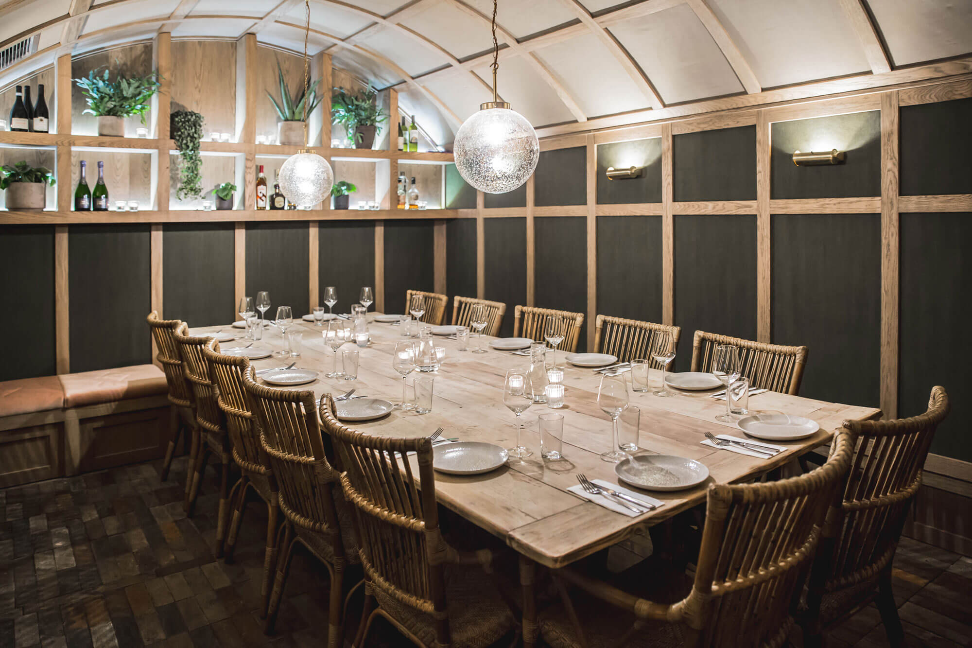 Vardo Restaurant - Chelsea - No Boundaries - Private Dining
